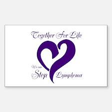 Stop Lymphoma Decal