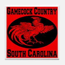 Gamecock Country South Carolina Tile Coaster