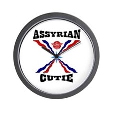Assyrian Cutie Wall Clock
