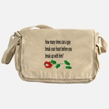 Disappointed Messenger Bag