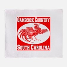 Gamecock Country SC Throw Blanket