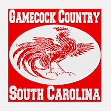 Gamecock Country SC Tile Coaster