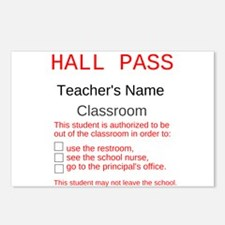 Mr. Nelson's Classroom Postcards (Package of 8)