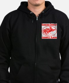 Gamecock Country Jacksonville, Alabama Zip Hoodie