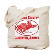 Gamecock Country Jacksonville, Alabama Tote Bag