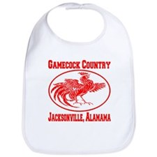 Gamecock Country Jacksonville, Alabama Bib