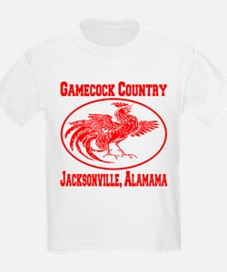 Gamecock Country Jacksonville, Alabama T-Shirt