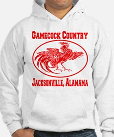Gamecock Country Jacksonville, Alabama Hoodie