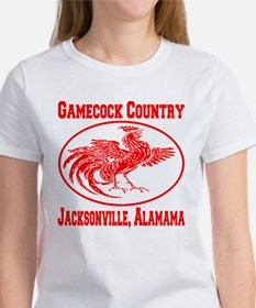 Gamecock Country Jacksonville, Alabama Women's T-S