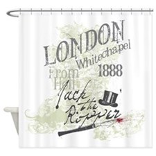 Jack the Ripper London 1888 Shower Curtain