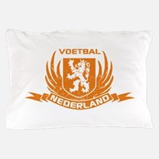 Voetbal Nederland Cres Pillow Case