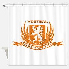 Voetbal Nederland Cres Shower Curtain