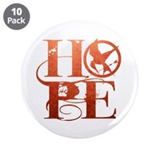 """Hope 3.5"""" Button (10 pack)"""