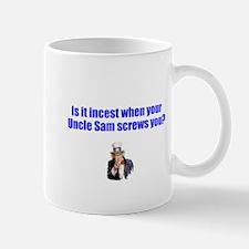 Uncle Sam screws you/photo Mug