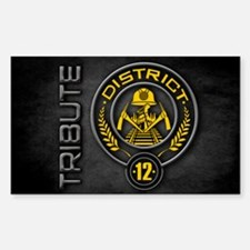 District 12 TRIBUTE Decal