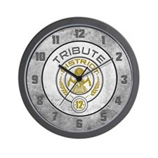 District 12 TRIBUTE Wall Clock