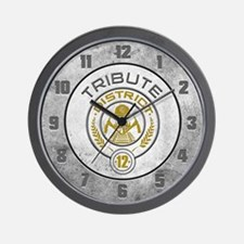 District 12 TRIBUTE Wall Clock