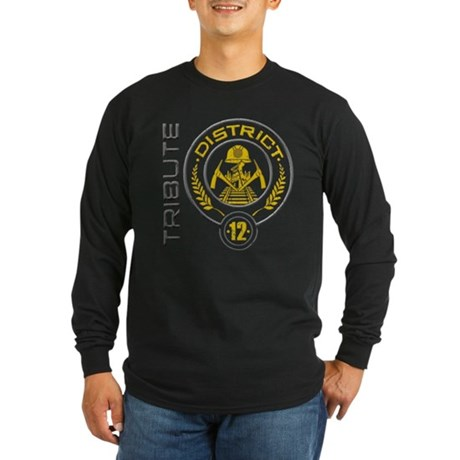 District 12 TRIBUTE Long Sleeve Dark T-Shirt