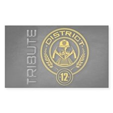 TRIBUTE - District 12 Decal