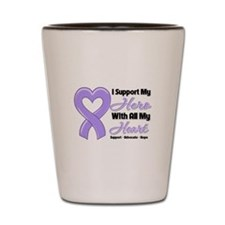 General Cancer Support Shot Glass