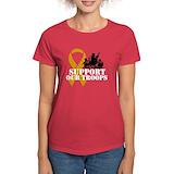 Military Women's Dark T-Shirt