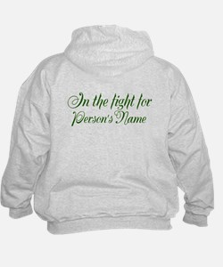 Personalize Back Hoodie
