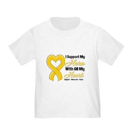 Childhood Cancer Support Toddler T-Shirt