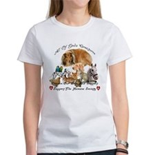 Humane Society Front and Back Tee