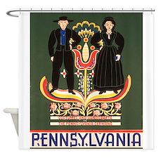 Pennsylvania Dutch Shower Curtain