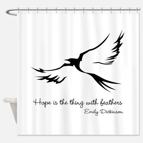 Feathered Hope Shower Curtain