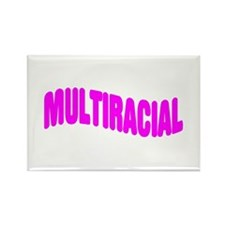 Multiracial Pride Rectangle Magnet