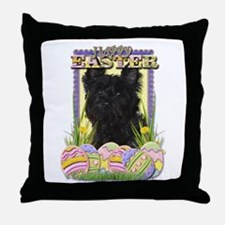 Easter Egg Cookies - Cairn Throw Pillow