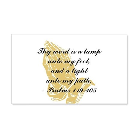 Inspirational Bible Quote 22x14 Wall Peel