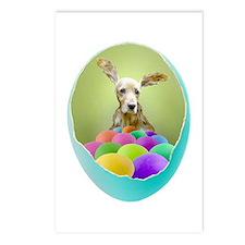 Dog Easter Egg Postcards (Package of 8)