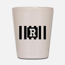 "Football ""R"" Shot Glass"