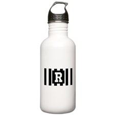 "Football ""R"" Water Bottle"