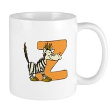 Z Is For Zebra Small Mugs