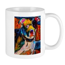 Pit Bull 3 Small Mugs