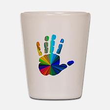 Hand Shot Glass