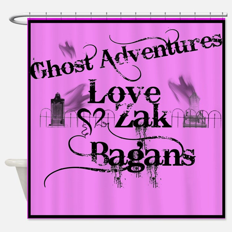 Ghost Adventures Shower Curtain