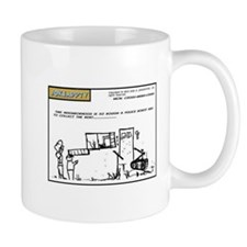 Joke Cartoon landlord Mug