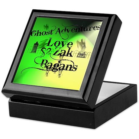 Ghost Adventures Keepsake Box
