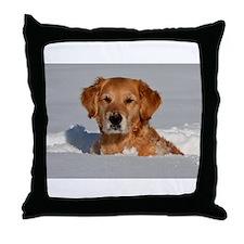 Golden Retriever 2 Throw Pillow