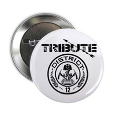 "Tribute district 12 2.25"" Button"