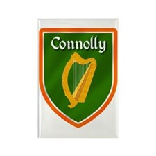 Connolly Family Crest Rectangle Magnet