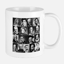 French Lit Faces Small Small Mug