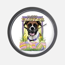 Easter Egg Cookies - Boxer Wall Clock