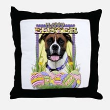 Easter Egg Cookies - Boxer Throw Pillow