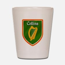 Collins Family Crest Shot Glass