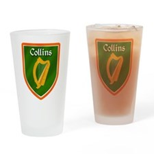 Collins Family Crest Drinking Glass